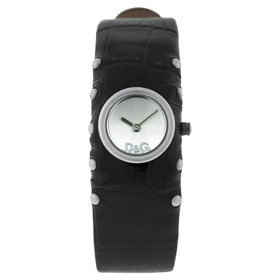 Dolce & Gabbana Reloj Analógico para Mujer de Cuarzo con Correa en Piel DW0351
