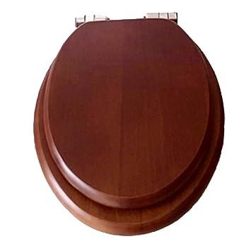 Remarkable Amazon Com Toilet Seat Heavy Duty Wc Sitz Wooden Soft Slow Machost Co Dining Chair Design Ideas Machostcouk