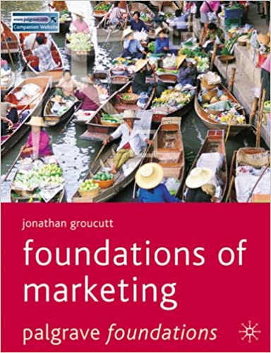 Foundations of Marketing (Palgrave Foundations Series)