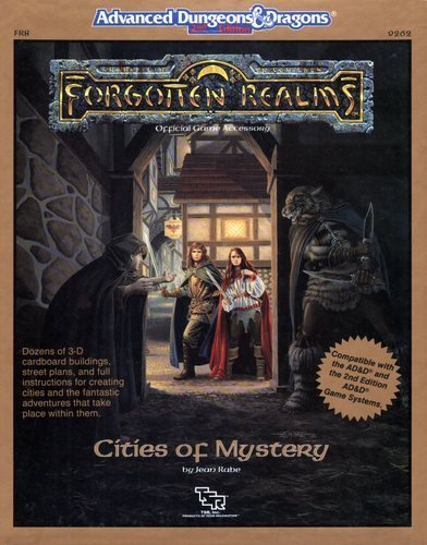 Cities of Mystery (AD&D Roleplaying, Forgotten Realms Accessory, Fr8)