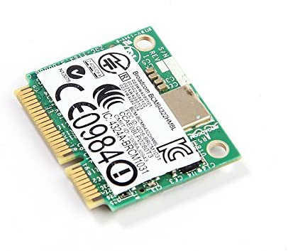 DW1510 AGN BCM94322 Half Dual-band N Pci-e Wirless WLAN Card 802 11a/g/n  2 4G & 5G for Laptops & Netbooks