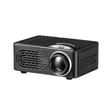Mini Proyector, Soporte 1080 HD LED Projector Puede Leer Discos En ...