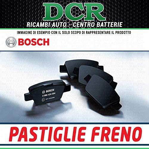 Bosch 0/986/424/553/gioco di 4/piastrine di freno posteriore