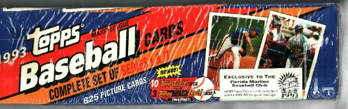 1993 Topps Baseball Card Factory Sealed Set Rare Florida ...