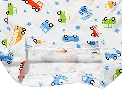 ボーイズ コットン 下着 ボーイズ 幼児 ブリーフ 下着 ミックス カラー 5パック