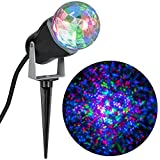 Multi-color Projection Outdoor Kaleidoscope LED Spotlight - Red Green Blue 10.24