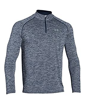 Under Armour Men's Tech 14 Zip, Academysteel, Large 3