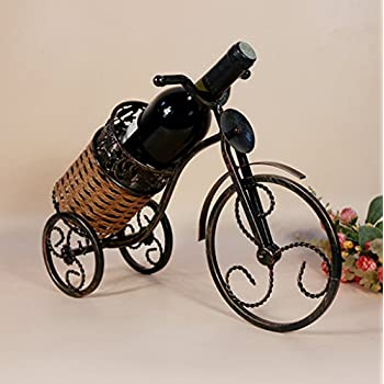 High End Bike Wine Rack European Tricycle Wine Holder Home Furnishing Decor  And Fashion