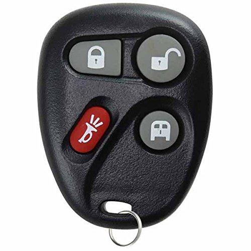 KeylessOption Keyless Entry Remote Control Car Key Fob Replacement for 15752330