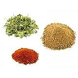 Jalpur Millers Spice Combo Pack - Dried Fenugreek Leaves 50g - Dried Mango Powder 100g - Kashmiri Chilli Powder 100g (3 Pack)