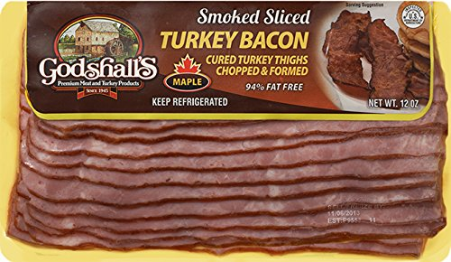 Godshall's Sliced Maple Turkey Bacon 12 Oz (6 ()