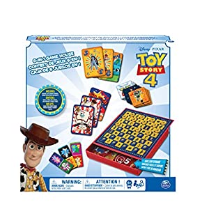 Cardinal Games Disney Pixar Toy Story 4 6-In-1 Game House