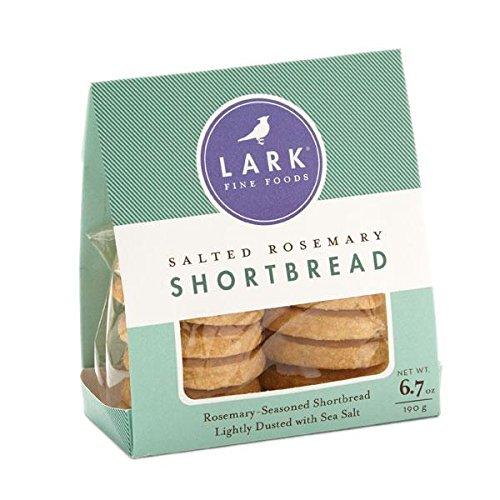 Salted Rosemary Shortbread Cookies by Lark, 6.7oz