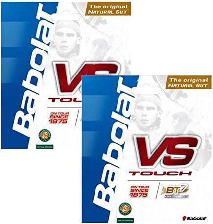 BABOLAT(バボラ) VS TOUCH(ブイエス タッチ) 135 ナチュラル 2張りセット BA201021-135-NA-2SET