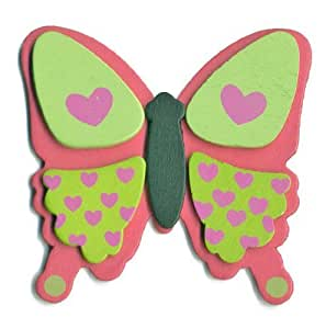 Package of 12 fun painted wood love butterfly for Amazon arts and crafts for kids