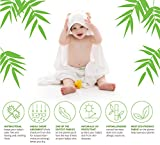 Super Soft Organic Bamboo Hooded Baby Towel with