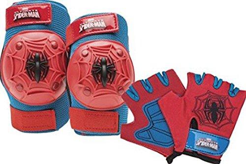 Marvel Spiderman Toddler Skate / Bike Helmet Pads & Gloves - 7 Piece Set by Marvel (Image #2)