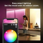 Philips Hue Bluetooth Smart Lightstrip Plus 2m/6ft Base Kit with Plug, (Voice Compatible with Amazon Alexa, Apple… 10