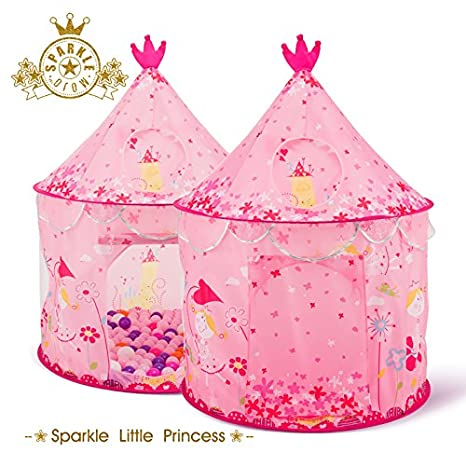 Amazon Com Bestmart Inc Children S Play Tent Tunnels Princess