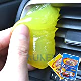 Car Keyboard Cleaner Glue Gel Interior Panel Air Vent Outlet Dashboard Dust Magic Cleaning Tool Laptop Sponge Mud…