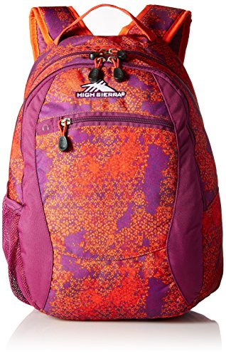 Berry Tiles (High Sierra Curve Backpack, Moroccan Tile/Berry Blast/Redline)