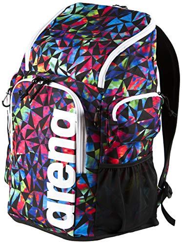 Arena Team 45 AO Print Backpack, Textured Black/Multi