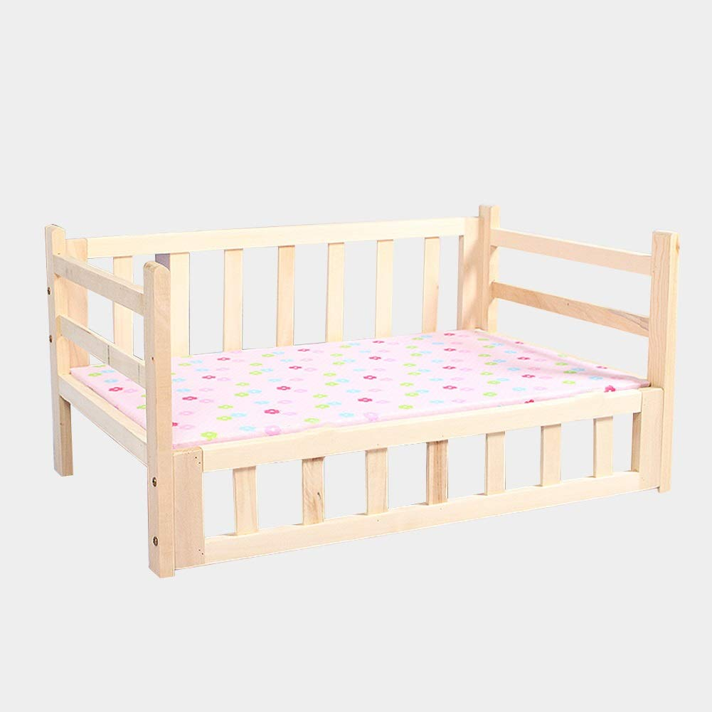 115x60x40cm Pet Bed Frame, Pet Cot Elevated Pet Bed for Indoor Or Outdoor Use, Four Seasons Universal Dogs Beds (Size   115x60x40cm)