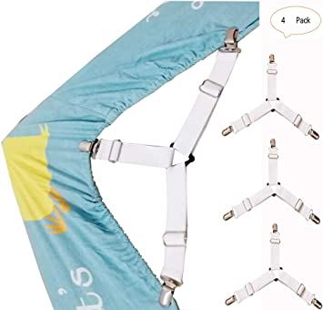 Amazon.com: Aiamo - Sujetador de sábanas, sujetadores ...