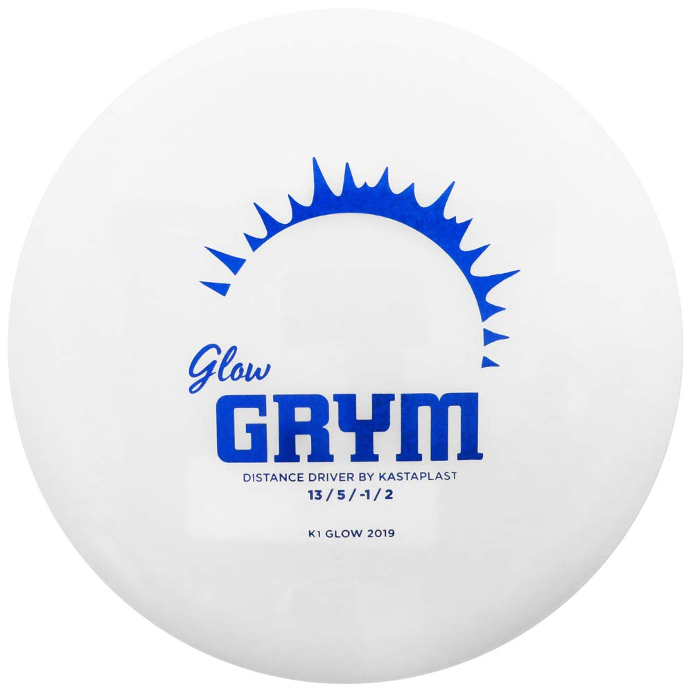 Kastaplast K1 Glow Grym Distance Driver Golf Disc [Colors May Vary] - 170-172g by Kastaplast