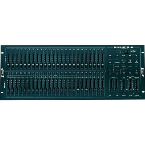 ADJ Products SCENE-SETTER 48 48 CH DMX DIMMING CONTROLLER (Lighting Scene Console)