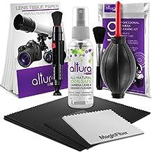 Altura Photo Professional Cleaning Kit for DSLR Cameras and Sensitive Electronics Bundle with Altura Photo 2oz All Natural Camera Lens & Sensor Cleaner