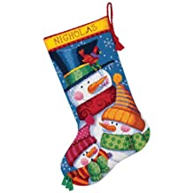 Dimensions Needlecrafts Needlepoint, Freezing Season Stocking