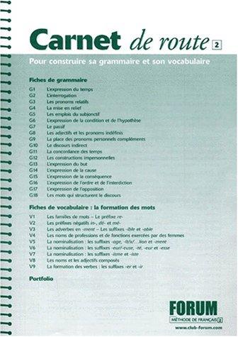 Forum: Carnet De Route 2 (French Edition) ebook