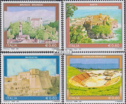 Italy 3170-3173 (Complete Issue) 2007 Tourism (Stamps for Collectors) ()