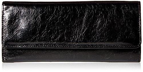 HOBO Vintage Sadie Continental Wallet,Black,One Size
