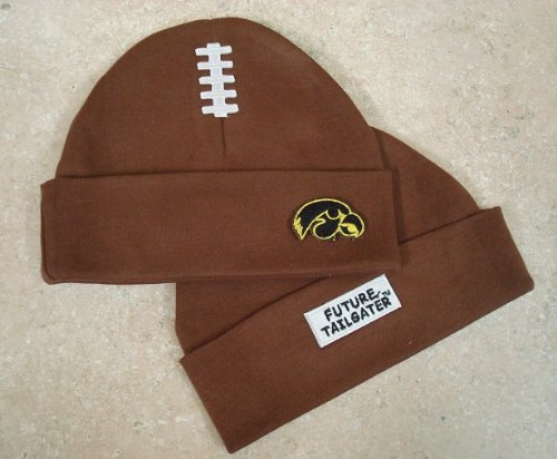 Future Tailgater Iowa Hawkeyes Football Cap (Brown) (Football Iowa Brown Hawkeyes)