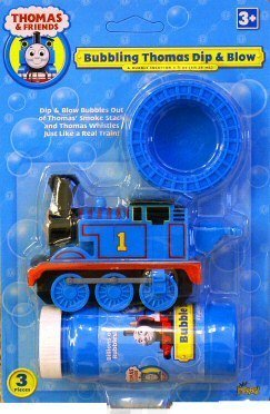 (Imperial Toy - Bubbling Thomas Dip and Blow Bubble Blower)