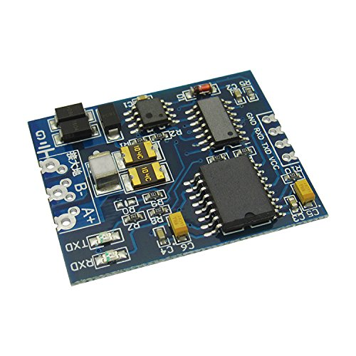 1 Piece TTL to RS485 module RS485 to TTL with isolated single chip serial port UART industrial module
