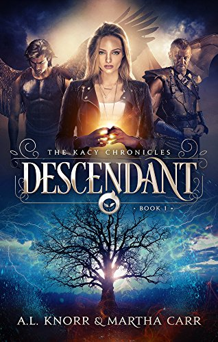 Descendant: The Revelations of Oriceran (The Kacy Chronicles Book 1) cover