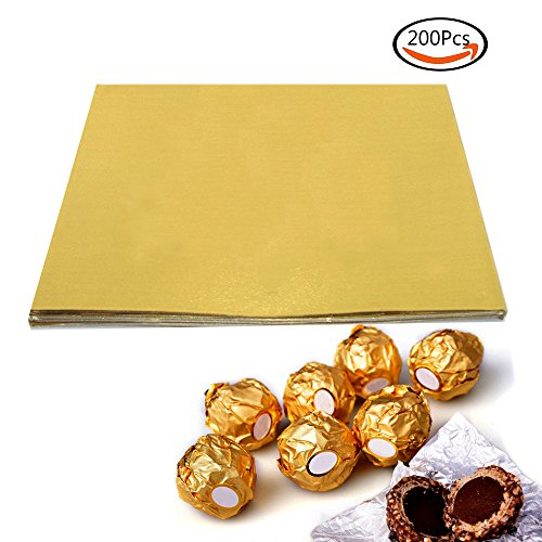 Chocolate Wrapping Paper (BAKHUK 200pcs 3.15