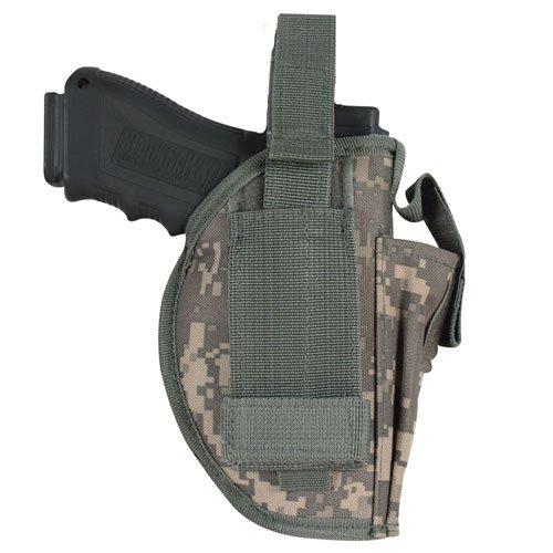 - Fox Outdoor Products Ambidextrous Belt Holster, Terrain Rubberized Digital