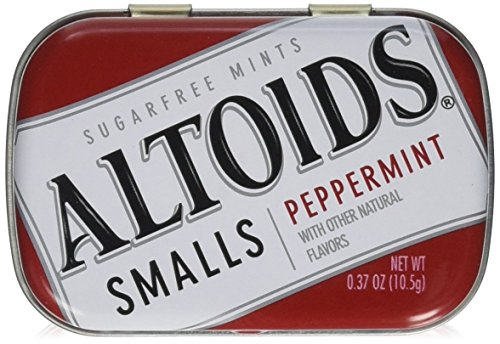 Altoids Small S Mints - ALTOIDS Smalls S/F Peppermint by WRIGLEY'S 9-Pack