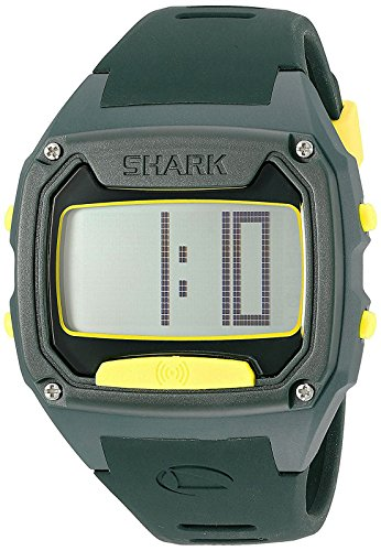 Freestyle Unisex 10025775 Shark Tooth Digital Display Japanese Quartz Green Watch