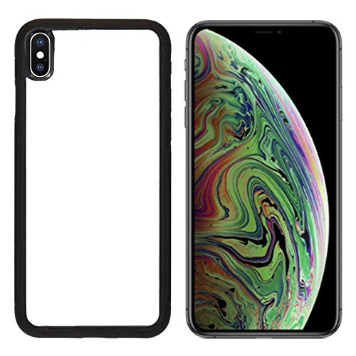 Luxlady Apple iPhone Xs MAX Case Aluminum Backplate Bumper Snap Cases Soccer Ball on Penalty Disk in The Stadium Image ID 7127177