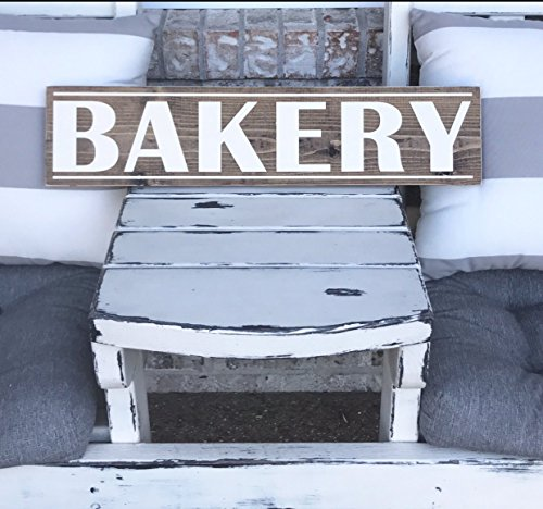 wooden bakery sign - 6