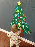 jollylife 3ft DIY Felt Christmas Tree Set - Xmas