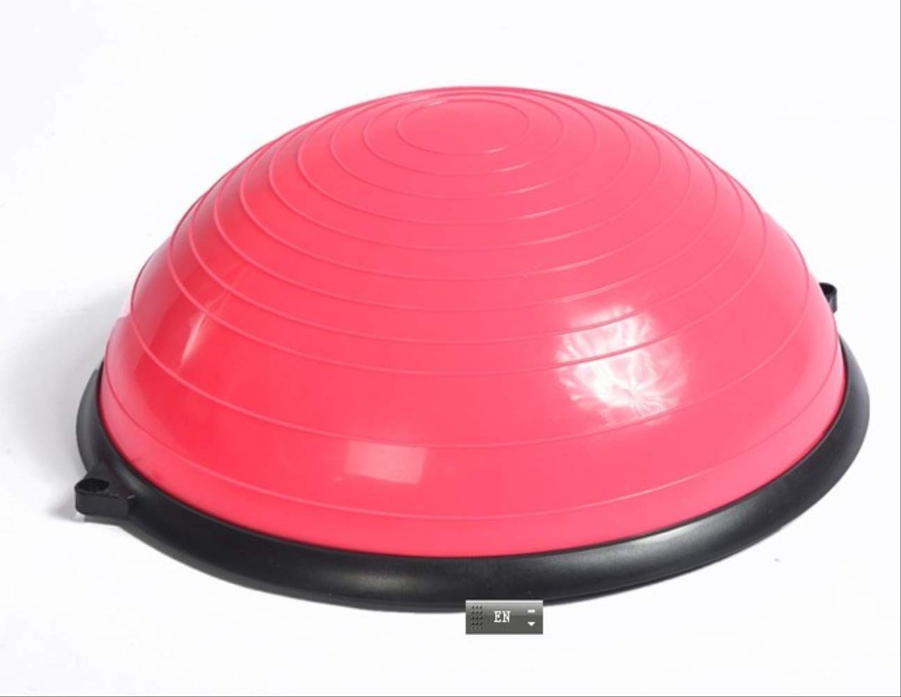 YJQQ Pelota De Yoga 58Cm Yoga Balance Ball Half Yoga Ball ...