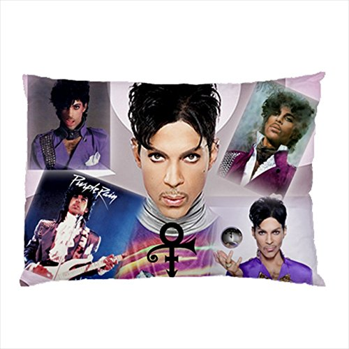 Rebble Warner Bros Prince Purple Rain Throw Cover Pillow Case ()