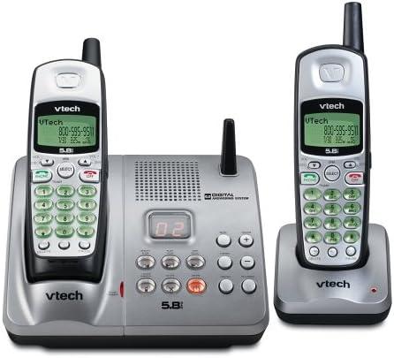 Vtech IA 5864 – 5.8 GHz Dual teléfono teléfono inalámbrico sistema w/dispositivo de respuesta digital, identificación de llamada entrante y llamada en espera: Amazon.es: Electrónica