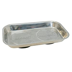 Silverline 868812 Magnetic Parts Tray, 150 x 225 mm